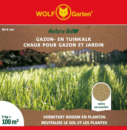 NATURA BIO GAZON-/TUINKALK 5KG RG-K 100
